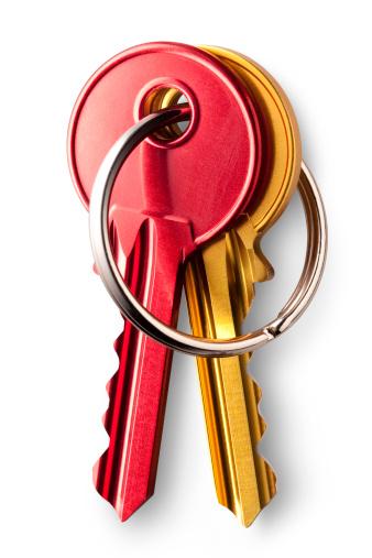 Choosing「Bunch of keys」:スマホ壁紙(3)