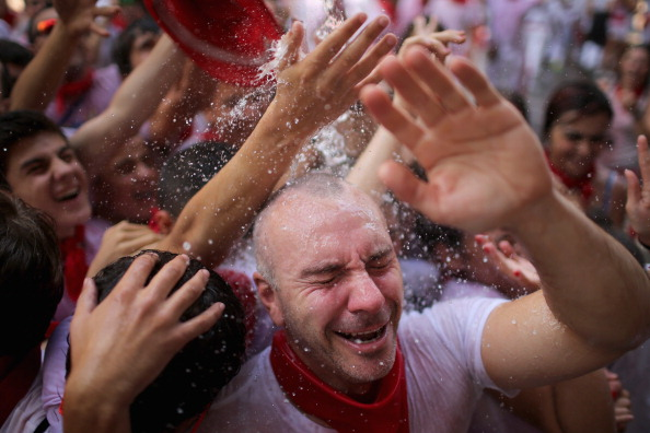 Architectural Feature「Pamplona Running Of The Bulls」:写真・画像(3)[壁紙.com]