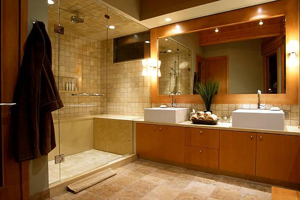 luxury resort hotel washroom:スマホ壁紙(壁紙.com)