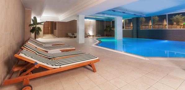 Health Spa「Luxury resort indoor swimming pool」:スマホ壁紙(2)