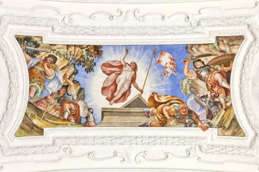 Abbey - Monastery「fresco Benediktbeuern」:スマホ壁紙(5)