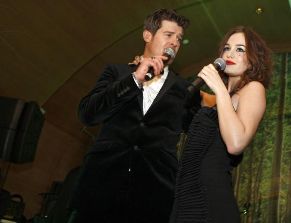 Baby Doll Dress「Robin Thicke's Album Release Party at Butter」:写真・画像(14)[壁紙.com]