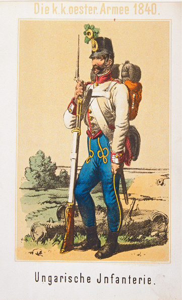 Chromolithograph「Military Uniforms Austria」:写真・画像(19)[壁紙.com]