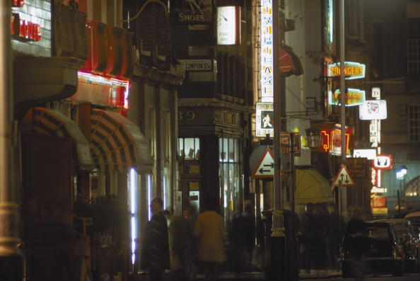 Street「Old Compton Street Corner」:写真・画像(6)[壁紙.com]