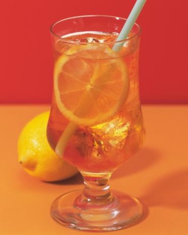 Ice Tea「Ice Lemon Tea and Lemon, Full Frame, Differential Focus」:スマホ壁紙(10)