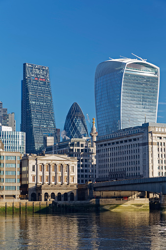 122 Leadenhall Street「UK, London, Walkie Talkie building, Leadenhall building and The Gherkin」:スマホ壁紙(17)