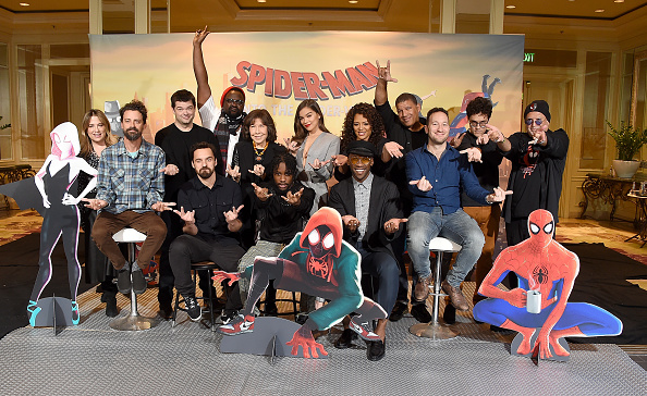 "Movie「Photo Call For Sony Pictures Releasing's ""Spider-Man: Into The Spider-Verse""」:写真・画像(16)[壁紙.com]"