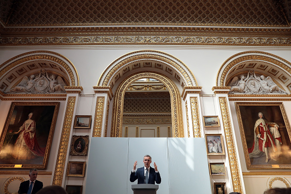 Secretary-General「The General Secretary Of NATO Delivers Pre-summit Speech In London」:写真・画像(2)[壁紙.com]