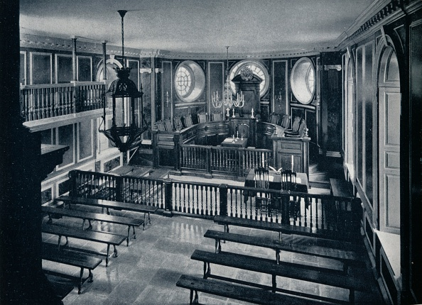 Bench「The General Court at the Capitol of Williamsburg, c1938」:写真・画像(2)[壁紙.com]