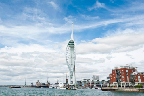 Postmodern「A perspective view of Gunwharf Quays in Portsmouth」:スマホ壁紙(9)