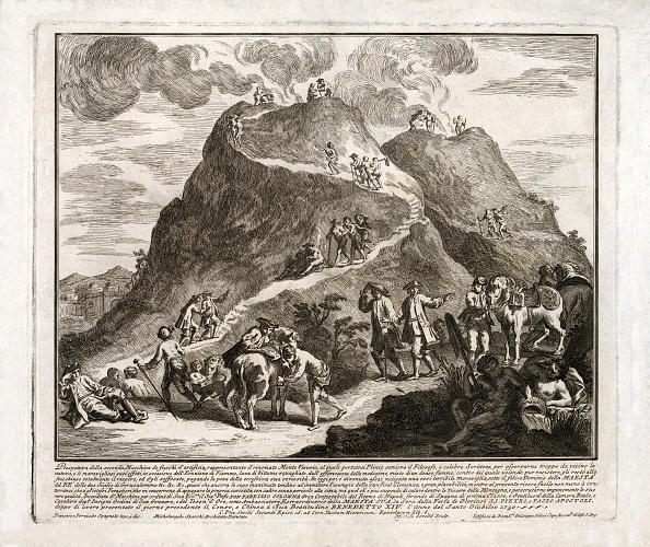 Horse「Perspective Of The Second Eruption Of Vesuvius」:写真・画像(12)[壁紙.com]