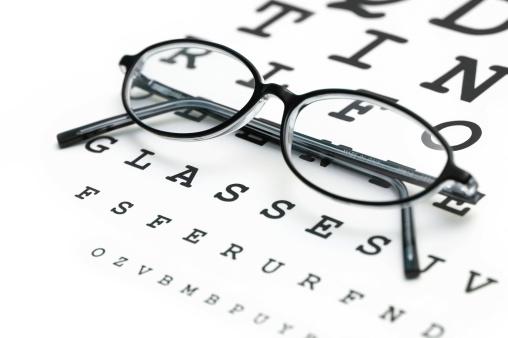 Optometrist「eye chart and glasses」:スマホ壁紙(0)