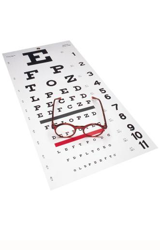 Optometrist「Eye chart and eyeglasses」:スマホ壁紙(18)