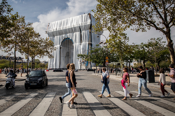 Paris - France「Arc De Triomphe To Be Wrapped For Posthumous Work By Artist Christo」:写真・画像(0)[壁紙.com]