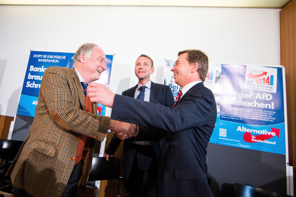 Thuringia「AfD Euphoric Following Brandenburg And Thuringia Election Results」:写真・画像(8)[壁紙.com]