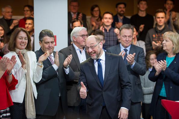 Politics and Government「Social Democrats Leadership Nominates Martin Schulz As Chancellor Candidate」:写真・画像(7)[壁紙.com]