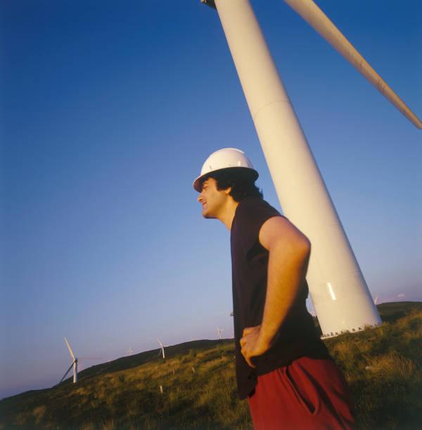 Rural wind turbines.:ニュース(壁紙.com)