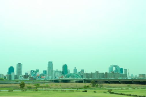 Japan「Building and Riverside」:スマホ壁紙(13)