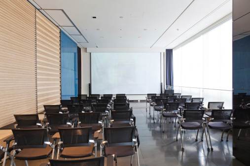 Foldable「conference room with chairs and projection screen」:スマホ壁紙(11)