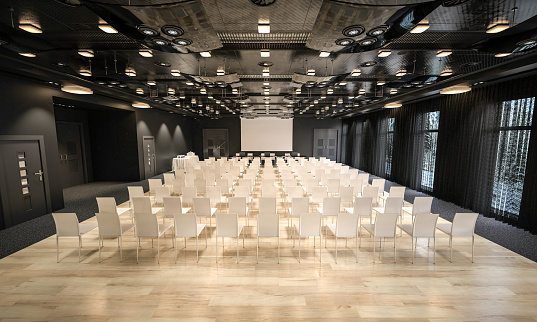 Projection Equipment「Conference hall」:スマホ壁紙(13)