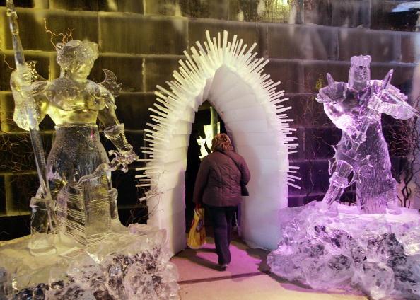 Snow Festival「Annual Ice Sculpture Festival」:写真・画像(8)[壁紙.com]