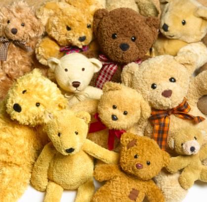 Stuffed Animals「Collection of teddy bears.」:スマホ壁紙(0)