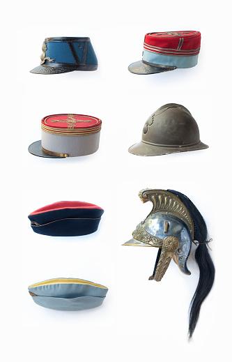 歴史「collection of french military hats」:スマホ壁紙(2)