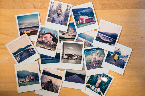 Progress「Collection of travel instant photos」:スマホ壁紙(19)