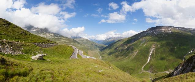 Mountain Pass「Swirteland, Grisons, Oberalp Pass」:スマホ壁紙(5)