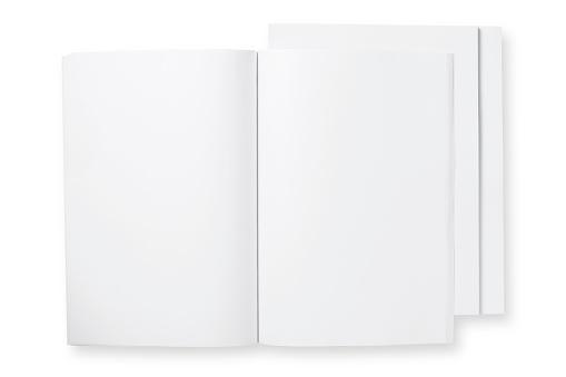 Letter - Document「open blank magazine」:スマホ壁紙(12)