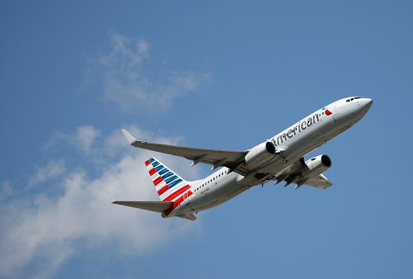American Airlines「Airplane Traffic At JFK Airport in New York」:写真・画像(14)[壁紙.com]