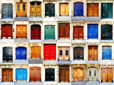 Multiple Image「Paris doors」:スマホ壁紙(13)