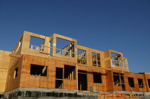Housing Project「wood construction frame apartment housing」:スマホ壁紙(3)