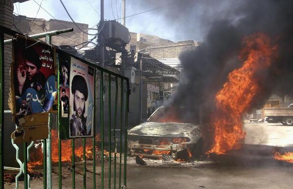 Ghaith Abdul-Ahad「US Forces Close In On Imam Ali Shrine In Najaf」:写真・画像(18)[壁紙.com]