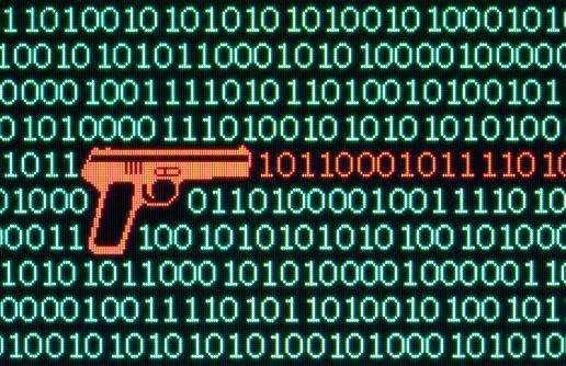 Cyber-「Cyber crime」:スマホ壁紙(13)