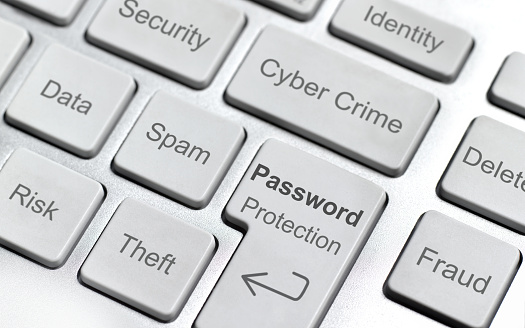Cyber-「Cyber crime computer keyboard」:スマホ壁紙(3)
