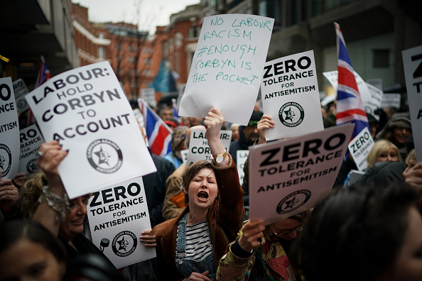 Labor Party「Anti-Semitism Campaigners Demonstrate Outside Labour Party HQ」:写真・画像(10)[壁紙.com]