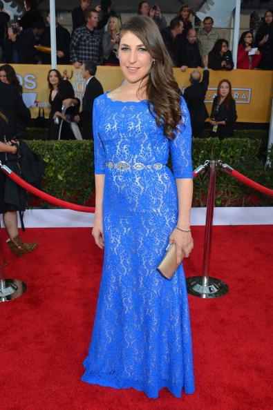 Sleeved Dress「19th Annual Screen Actors Guild Awards - Red Carpet」:写真・画像(4)[壁紙.com]