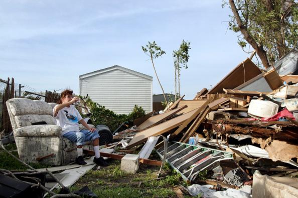 Davie - Florida「Hurricane Wilma Makes Landfall In Florida」:写真・画像(2)[壁紙.com]