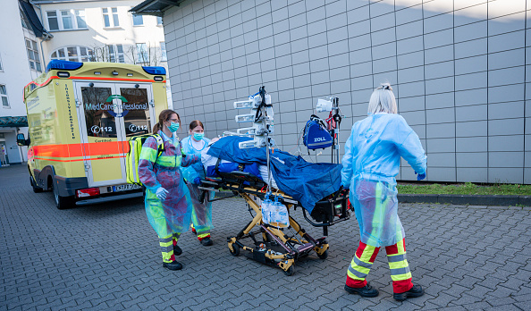 Germany「Hospitals Expect Number Of Covid-19 Cases To Rise」:写真・画像(9)[壁紙.com]