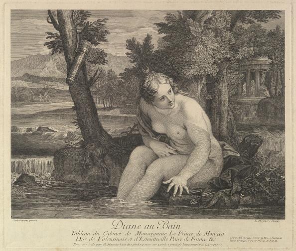 Taking a Bath「Diana At The Bath Creator: Louis Desplaces」:写真・画像(14)[壁紙.com]