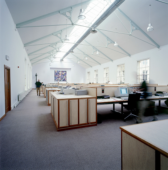 High Angle View「Office space The Red Box Design Company Newcastle, United Kingdom」:写真・画像(15)[壁紙.com]