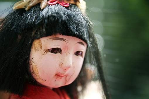 Doll「Cracked Antique Porcelain China Doll's Head」:スマホ壁紙(6)
