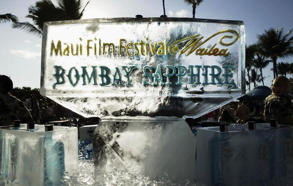 Ice Sculpture「Maui Film Festival Opening Night Twilight Reception」:写真・画像(11)[壁紙.com]