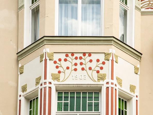 Bay Window「Jugenstil House」:写真・画像(1)[壁紙.com]