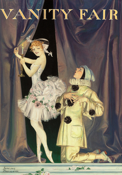 Painting - Activity「Pierrot And Columbine. Vanity Fair Magazine Cover」:写真・画像(14)[壁紙.com]