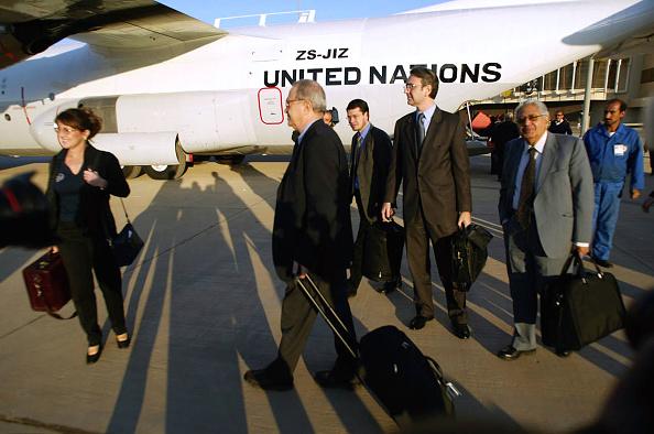 Baghdad「UN Weapons Inspectors Advance Party Depart Iraq」:写真・画像(8)[壁紙.com]
