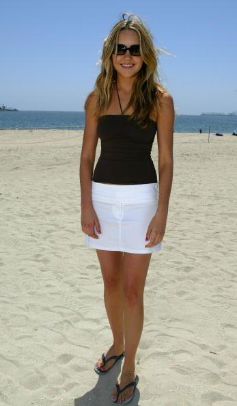 アマンダ バインズ「MTV TRL With Ashlee Simpson and Amanda Bynes At The Beach House In Long Beach, CA」:写真・画像(13)[壁紙.com]