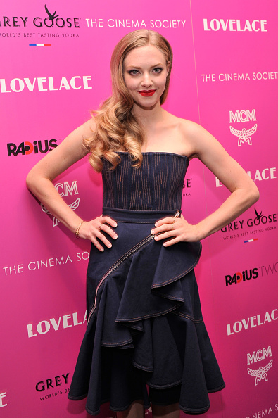"""Baby Doll Dress「The Cinema Society And MCM With Grey Goose Host A Screening Of Radius TWC's """"Lovelace"""" - Arrivals」:写真・画像(16)[壁紙.com]"""