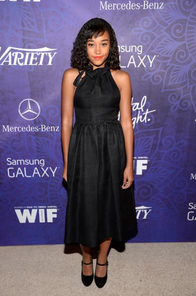 Amandla Stenberg「Variety And Women In Film Emmy Nominee Celebration Powered By Samsung Galaxy - Red Carpet」:写真・画像(19)[壁紙.com]